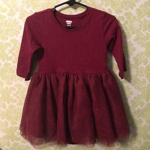 12-18mo. Burgundy dress. Old Navy. Never worn.